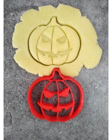 Biscuit sablé en forme de citrouille d'halloween