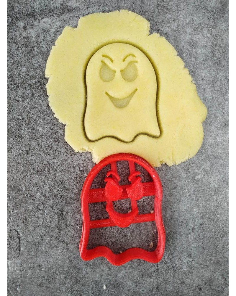 Biscuit sablé en forme de fantôme