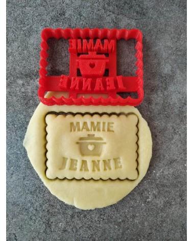 Biscuit sablé personnalisé pour les mamies
